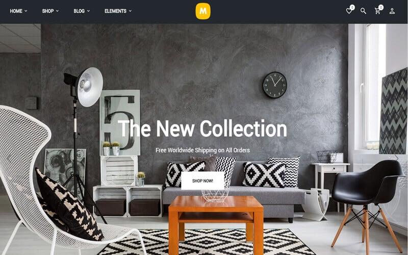 Preview screenshots of Merchandiser- eCommerce WordPress Theme for WooCommerce