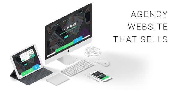 Preview screenshots of The SEO - Digital Marketing Agency WordPress Theme