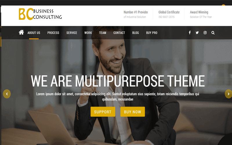 BC Business Consulting Multipurpose WooCommerce WordPress Theme