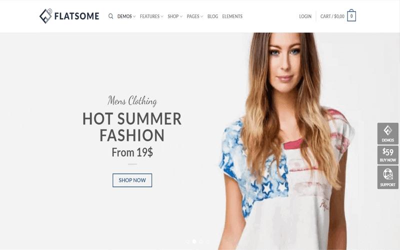 Screecshots for the theme WordPress WooCommerce Theme of Flatsome
