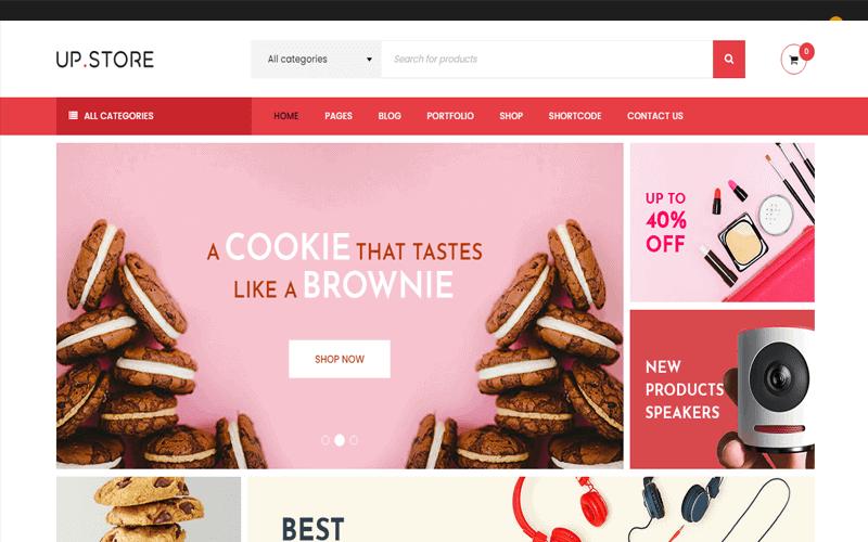 UpStore one of the best WordPress templates