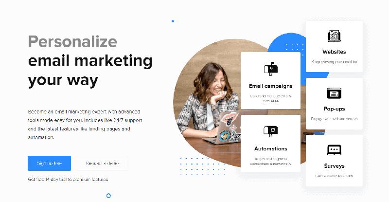 mailchimp alternatives free