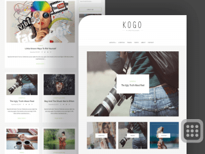 KOGO Professional WordPress Blog Themes Free